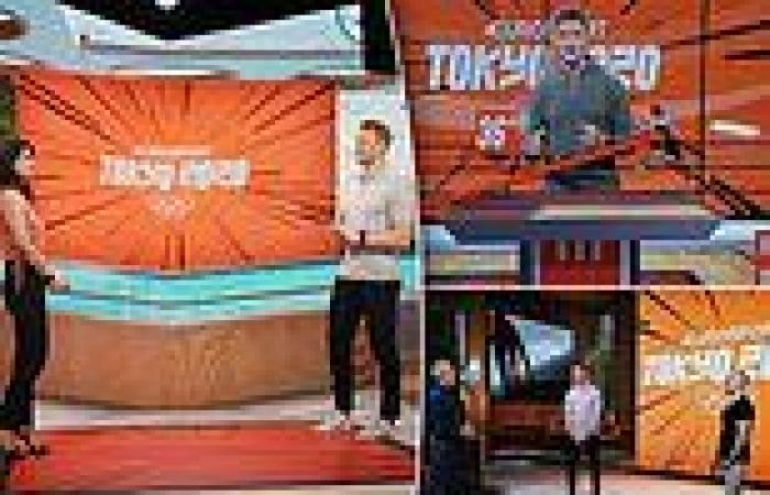 sport news Discovery and Eurosport launch 'Cube' tech for Tokyo 2020 which sees athletes ...