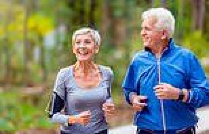 Walking for 40 minutes three times a week can freshen white matter in the ...
