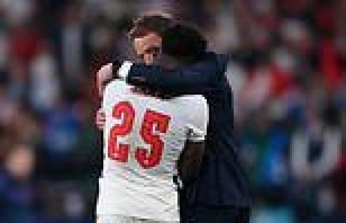 sport news EURO 2020:England players were targeted with 12,500 abusive messages during ...