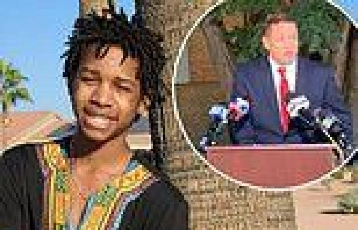Baltimore cop, 34, is charged with murdering his stepson, 15, whose body was ...