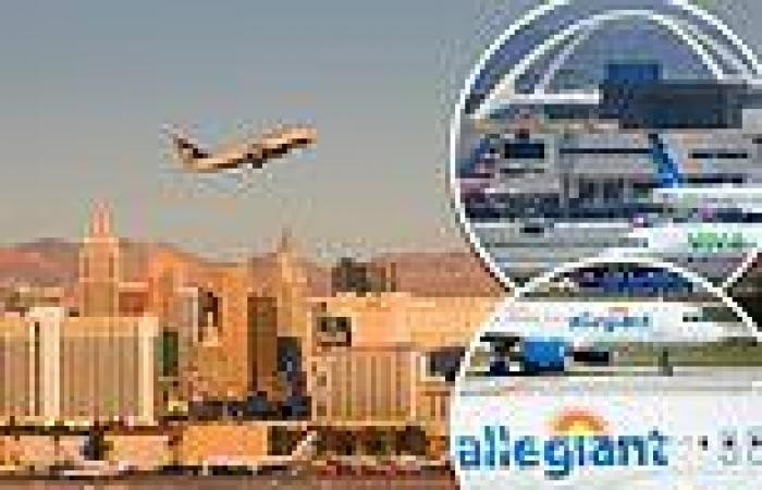 One-hour flight from Las Vegas to CA turned into 17-hour journey for Allegiant ...