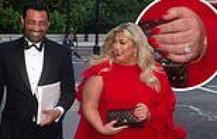Gemma Collins enjoys a date night with Rami Hawash