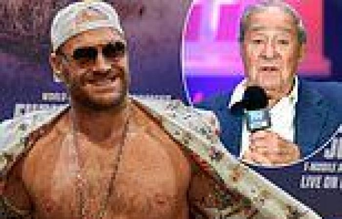 sport news Tyson Fury REJECTED second Covid-19 jab due to concerns about sickness ahead of ...