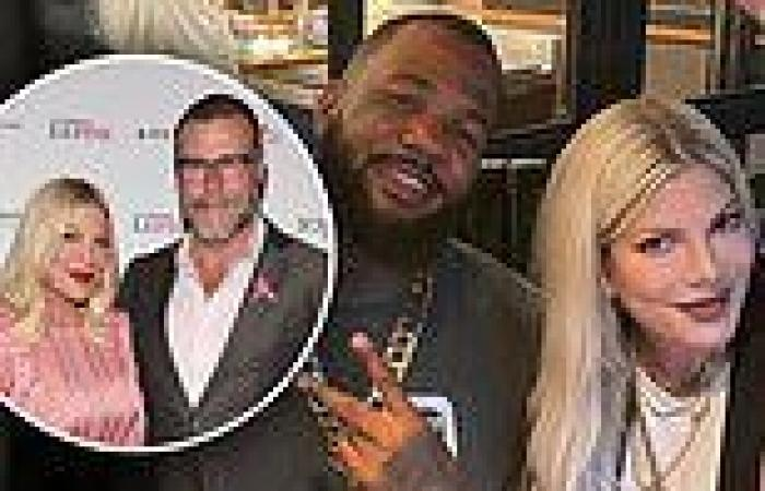 Tori Speling seen with Kardashian pal The Game amid rumors marriage to Dean ...