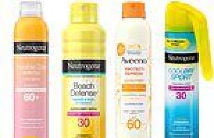 Johnson & Johnson recalls five Neutrogena and Aveeno sunscreens over ...