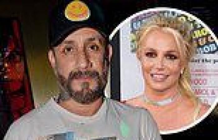 Backstreet Boys' AJ McLean on awkward exchange with Britney Spears as he rips ...