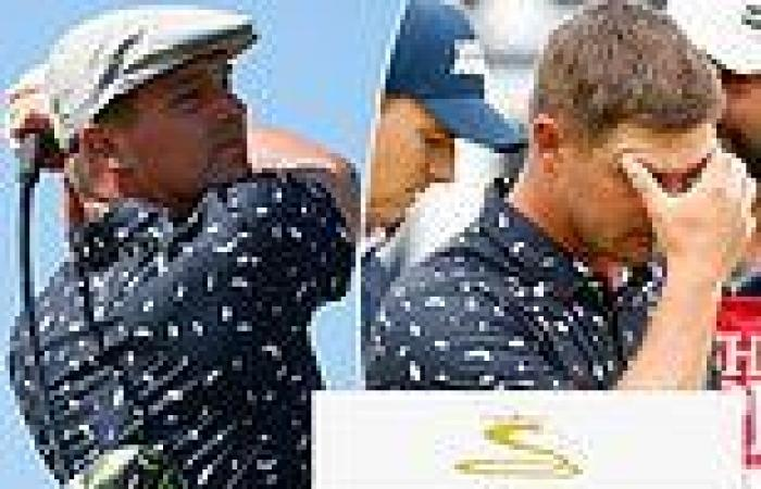sport news The Open: Bryson DeChambeau is called stupid... by his own CLUB SUPPLIER!