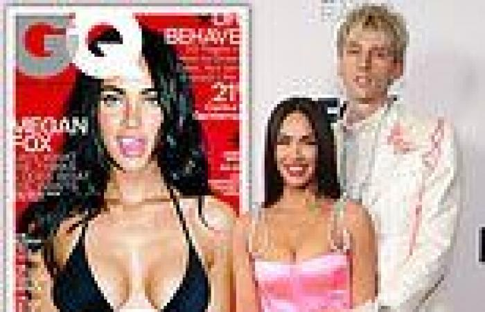 Machine Gun Kelly had a poster of Megan Fox hanging on his bedroom wall when he ...