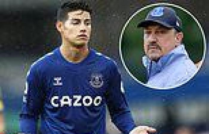 sport news Everton boss Rafa Benitez hints high-earner James Rodriguez may have to be SOLD ...