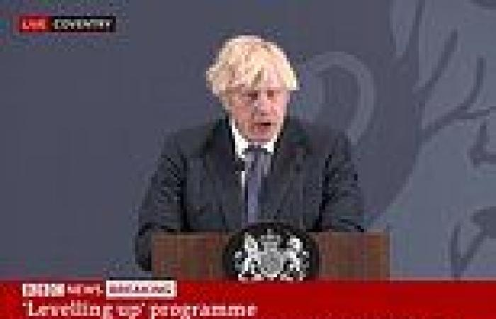 PM insists 'levelling up' agenda WON'T hurt Tory heartlands
