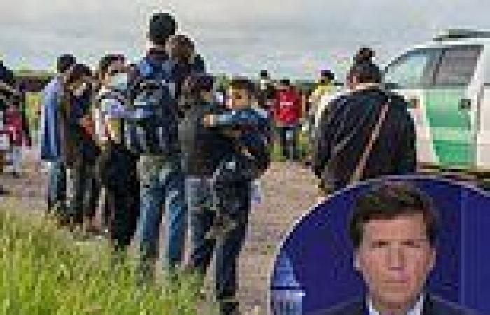 Tucker Carlson reveals a US military base is being used to fly illegal ...