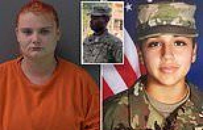 Woman accused of helping dismember Fort Hood soldier Vanessa Guillen is ...