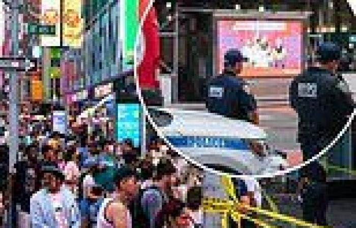 Gunman opens fire in Times Square for the third time in 3 months
