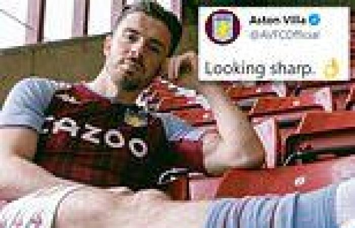 sport news Jack Grealish gives Aston Villa fans hope he will stay amid Manchester City ...