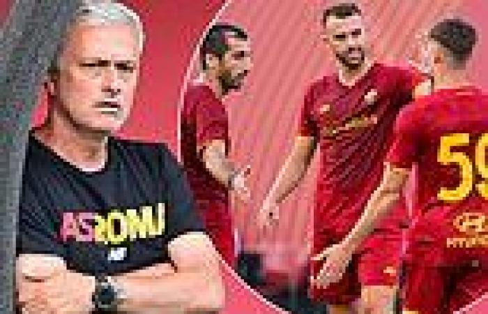 sport news Jose Mourinho gets Roma tenure off to a flying start after Serie A side smash ...