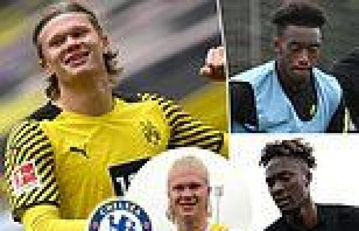 sport news Chelsea 'see opening bid for Erling Haaland REJECTED by Borussia Dortmund'