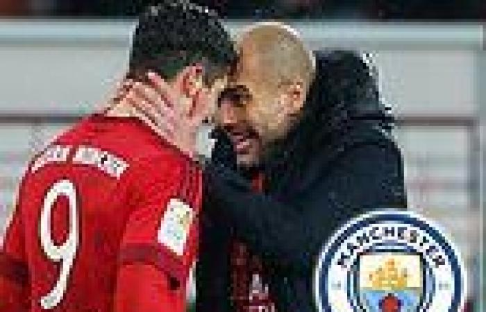 sport news As Man City ponder swoop for Lewandowski, how did the forward perform under ...
