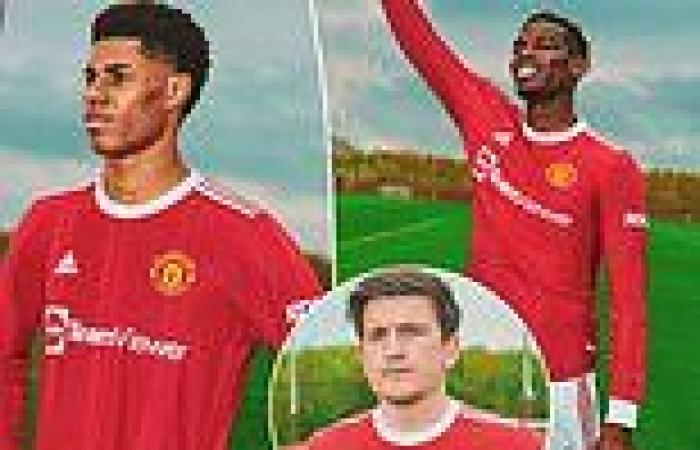 sport news Manchester United unveil home kit for next season along with new £235M shirt ...