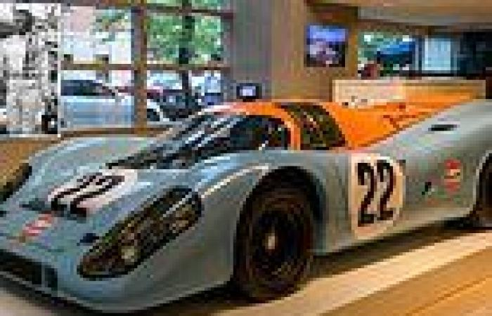 Steve McQueen's iconic 1970 Porsche 917K from 'Le Mans' set to fetch $18.5M in ...