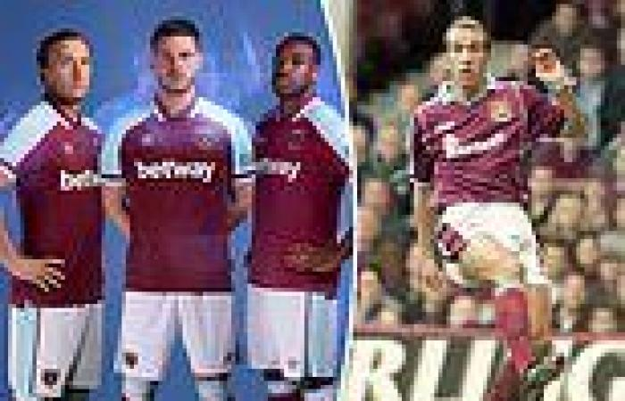 sport news West Ham unveil new home kit with strip inspired by kit worn by Paolo Di Canio ...