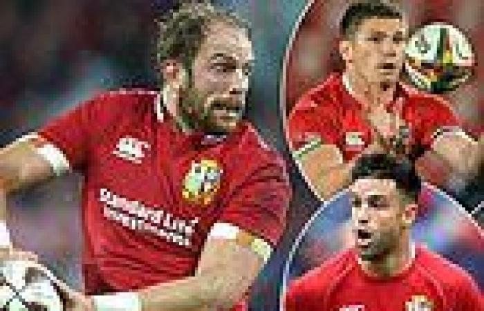 sport news JAMIE ROBERTS: Alun Wyn Jones comes straight back into my Lions side against ...