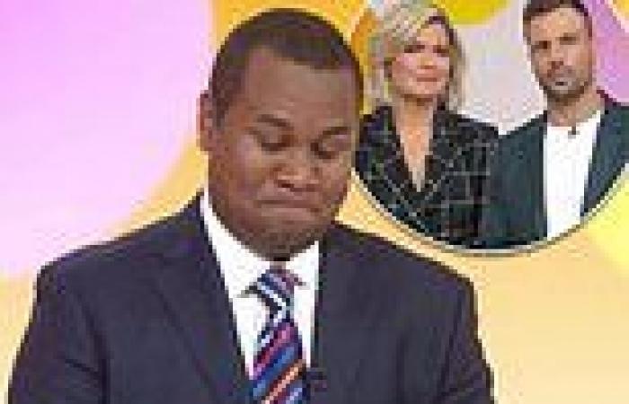 Studio 10: Daniel Doody breaks down while reporting on racism against England ...