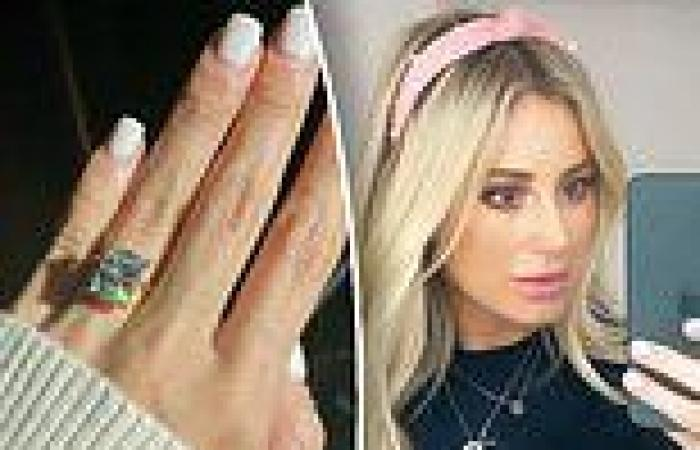 Roxy Jacenko shows off her stunning new 5.30 carat engagement ring after ...