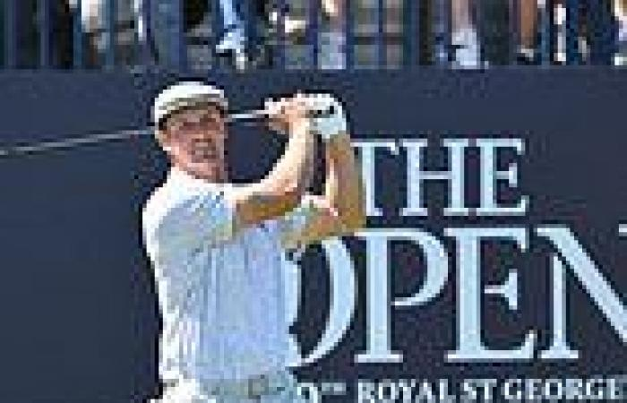 sport news Bryson DeChambeau is booed by Royal St George's crowd at The Open