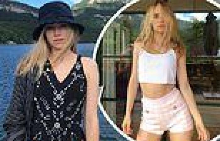 Suki Waterhouse showcases her fashion pedigree in a number of stunning outfits