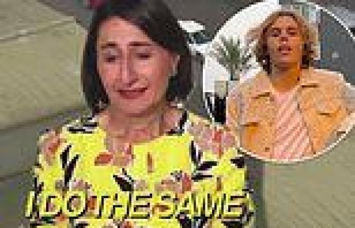 NSW Covid: Gladys Berejiklian 'stars' in The Kid Laroi's video for Stay