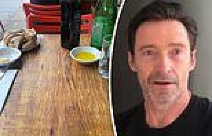 Hugh Jackman is trolled after getting 'stood up' at a café in New York City