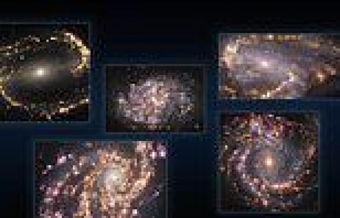 Astronomers capture stunning images of nearby galaxies looking like cosmic ...
