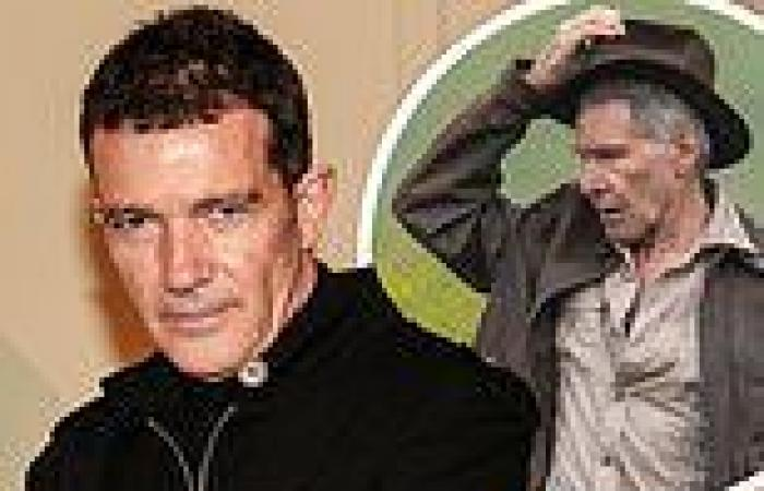 Antonio Banderas, 60, signs on to join Harrison Ford, 79, in Indiana Jones 5