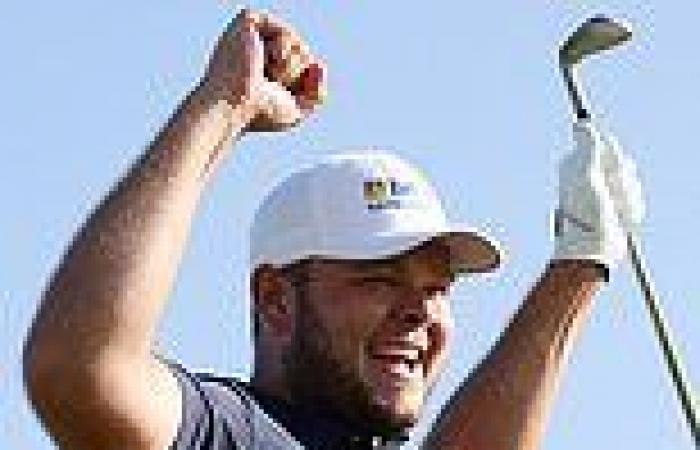 sport news Jonathan Thompson makes GIANT leap into golf's history books after hole in one ...