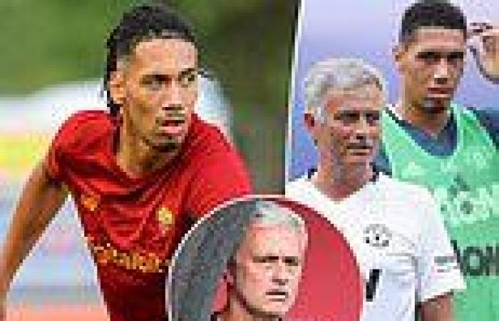 sport news Chris Smalling was 'surprised and excited' to be reunited with 'born winner' ...