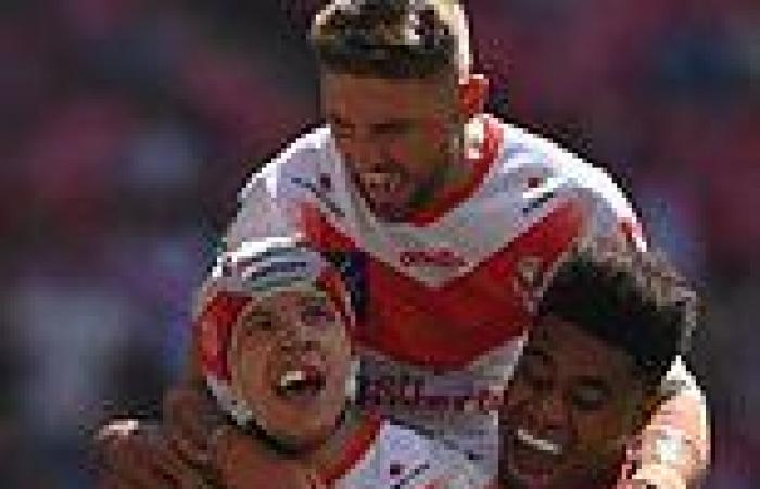 sport news Castleford 12-26 St Helens: Saints blow away Tigers with second-half blitz to ...