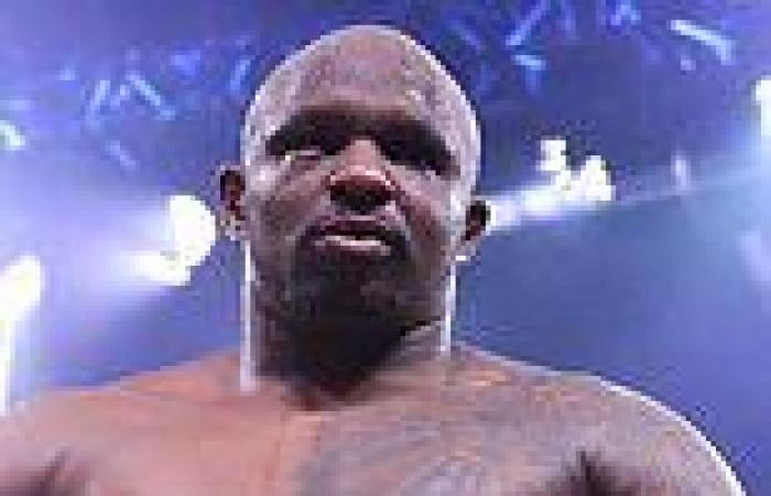 sport news Dillian Whyte calls Fury a 'w*****' after he was seen out in public six days ...