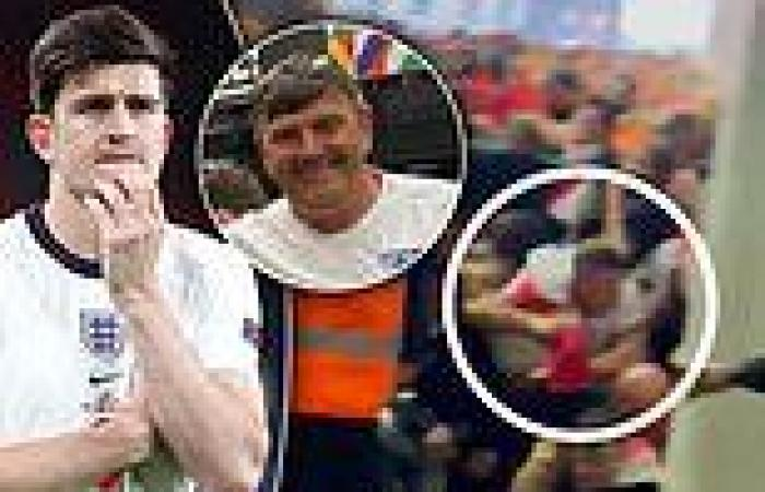 sport news Harry Maguire's father, 56, had his ribs broken in Wembley stampede as ...