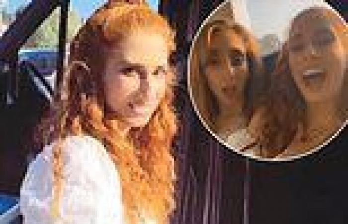 Pregnant Stacey Solomon sings karaoke on a party bus as she's whisked off on a ...