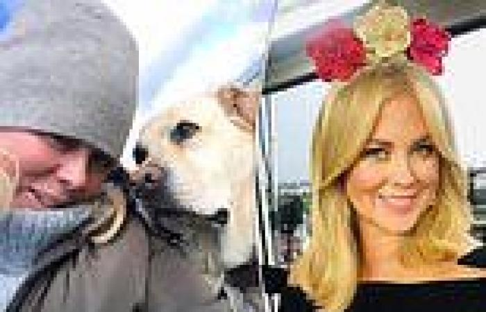 A rugged-up Samantha Armytage posts an adorable photo with her loveable ...