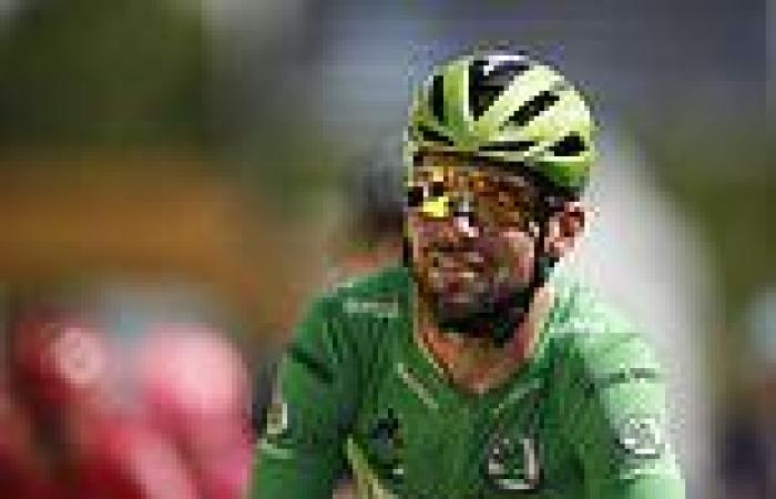 sport news Mark Cavendish slams bike into the ground and storms off after row with mechanic