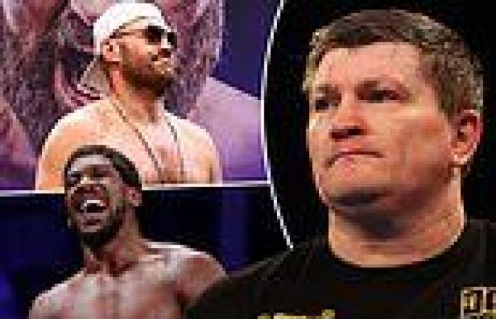 sport news Ricky Hatton fears Tyson Fury might say 'f**k it' to Anthony Joshua clash and ...