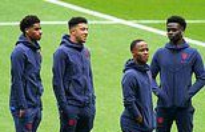 Prince William has been comforting the three black England footballers who ...