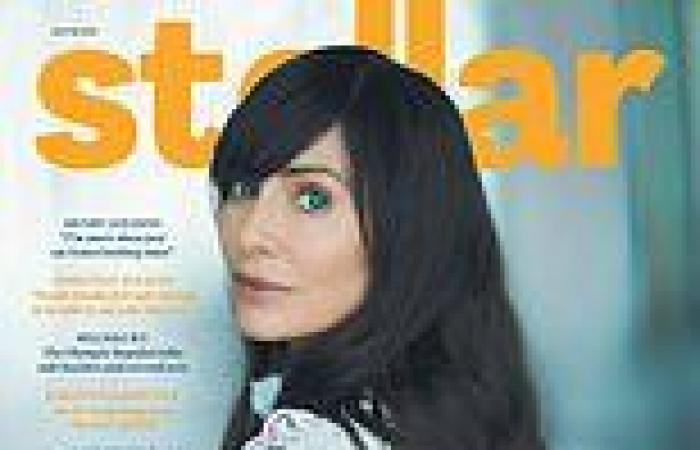 Natalie Imbruglia, 46, looks half her age on the cover of Stellar magazine