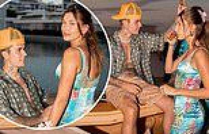 Justin Bieber and wife Hailey toss back shots in Cabo San Lucas with newly ...