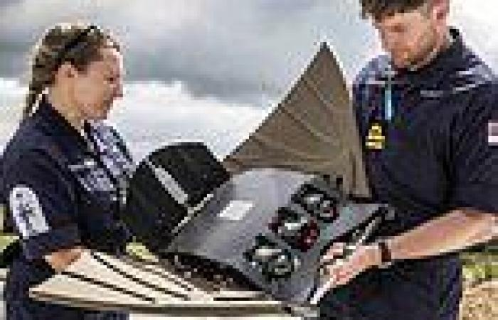 Drone disguised as a manta ray will be deployed by Royal Marines to spy on ...