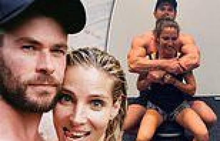 Chris Hemsworth pays tribute to 'gorgeous' wife Elsa Pataky on her 45th ...