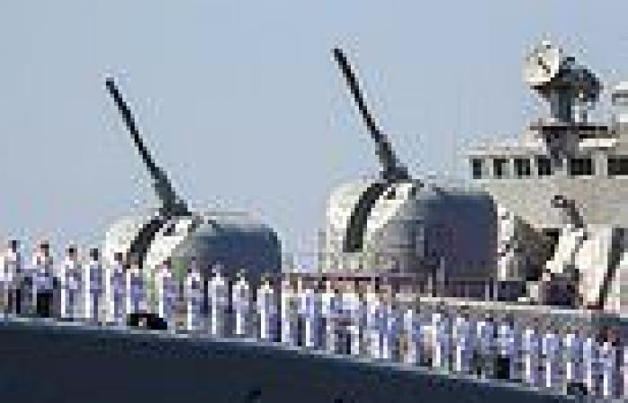 Russian Navy prepares to make its annual show of strength as Putin's warships ...