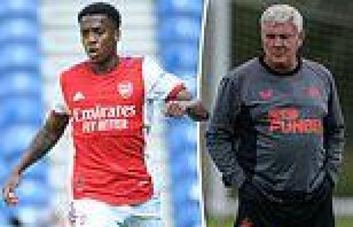 sport news Steve Bruce insists Newcastle 'keep badgering away' at Arsenal in hope of ...