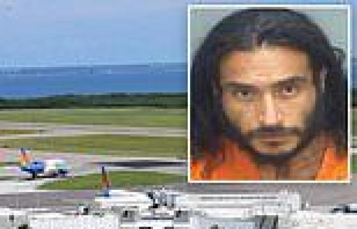 Florida man 'crashed car through airport gate before running into cockpit of ...